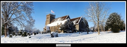 01 Snowfall on Thatcham Church