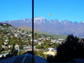 07 - Paraglider over Queenstown