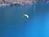 08 - Paraglider over Queenstown