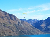 09 - Paraglider over Queenstown
