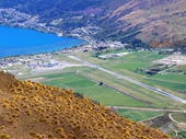 32 - Queenstown Airport from The Remarkables
