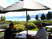 47 - Trevor and Wayne at Lake Tekapo