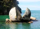 65 - Split Rock at Abel Tasman National Park