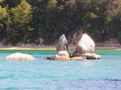 66 - Split Rock at Abel Tasman National Park
