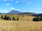 01 - Scenic Rim including Mt Barney on right (SE Qld's Highest Point)