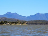 36 - Lake Moogerah (Cunningham's Gap in background