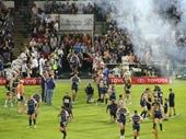 29 - NQ Cowboys enter Townsville Stadium