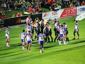 35 - Cowboys celebrate another try