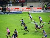 37 - Matt Bowen sets up an 80 metre try
