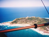 09 - Flying over Cape Byron in a microlite