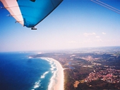 13 - Looking south of Byron Bay from the air