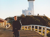 45 - Gary in front of Cape Byron lightouse