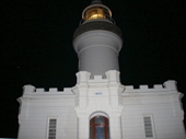 49 - Byron Bay lighthouse at night