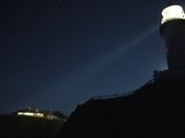 50 - Byron Bay lighthouse at night