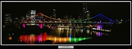 01 Story Bridge Rainbow Pattern
