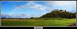 55 Rainbow over Stirling Castle Scotland