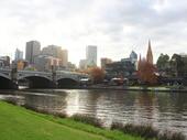 16 - Melbourne - Princes Bridge and Yarra River