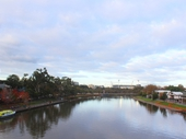 27 - Looking to the MCG from Princes Bridge