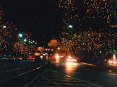 36 - St Kilda Road in Melbourne at night