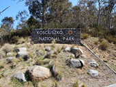 37 - Kosciuszko National Park entrance