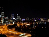 01 - Perth from King's Park at night