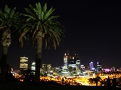 05 - Perth from King's Park at night