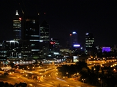 09 - Perth from King's Park at night