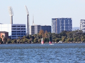 35 - WACA towers and East Perth