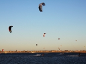 65 - Kite surfers near Rockingham