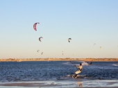66 - Kite surfers near Rockingham