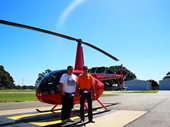 124 - Mark and I about to board the helicopter