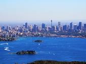 87 - Sydney from above Taronga Zoo