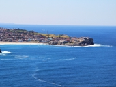 33 - Looking north from Coogee to Bondi