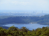 30 - Hinze Dam and Gold Coast from Beechmont
