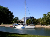 82 - Catamaran on Mooloolaba canal
