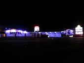 24 - El Rancho motel at night