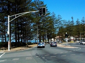 121 - Gold Coast Highway at Burleigh