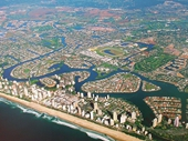 13 - Gold Coast from the air