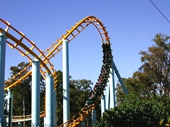 60 - Rollercoaster at Dreamworld