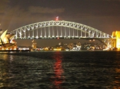06 - Sydney Harbour Bridge and Opera House at night