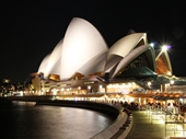 15 - Sydney Opera House at night