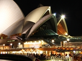 16 - Sydney Opera House at night