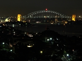 19 - Sydney Opera House and Harbour Bridge at night