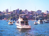 06 - Boats on Sydney Harbour