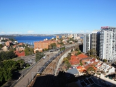 13 - Harbour and Railway at North Sydney