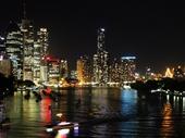 04 - Brisbane from Kangaroo Point at night