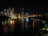 21 - Brisbane from Kangaroo Point at night