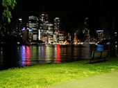 24 - Brisbane from Kangaroo Point at night
