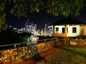 28 - Brisbane from Kangaroo Point at night