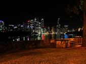 30 - Brisbane from Kangaroo Point at night